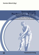 Cover Internationale Psychoanalyse Band 13: Südamerikanische Akzente
