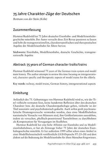 75 Jahre Charakter Züge Der Deutschen Pdf E Book Psychosozial Verlag