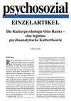 Die Kulturpsychologie Otto Ranks - eine legitime psychoanalytische Kulturtheorie (PDF-E-Book)