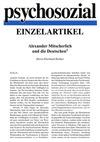 Alexander Mitscherlich und die Deutschen (PDF-E-Book)