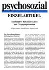 Deskriptive Rekonstruktion des Gruppenprozesses (PDF-E-Book)