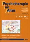Psychotherapie im Alter Nr. 15: Konflikt und Konfliktschicksale, herausgegeben von Christiane Schrader
