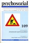 psychosozial 109: Arbeitswelt und Gesundheit