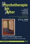 Psychotherapie im Alter Nr. 25: Bildung und lebenslanges Lernen, herausgegeben von Cornelia Kricheldorff und Angelika Trilling