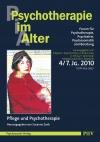 Psychotherapie im Alter Nr. 28: Pflege und Psychotherapie, herausgegeben von Susanne Zank