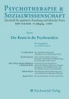 Psychotherapie & Sozialwissenschaft 1/2013: Der Raum in der Psychoanalyse
