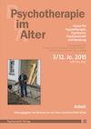 Psychotherapie im Alter Nr. 47: Arbeit, herausgegeben von Bertram von der Stein und Astrid Riehl-Emde