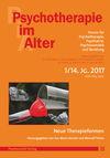 Psychotherapie im Alter Nr. 53: Neue Therapieformen, herausgegeben von Eva-Marie Kessler und Meinolf Peters