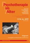Psychotherapie im Alter Nr. 55: Vergessen, herausgegeben von Reinhard Lindner und Rolf D. Hirsch