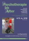 Psychotherapie im Alter Nr. 60: Im Alltag bestehen, herausgegeben von Josefine Heusinger und Ines Himmelsbach