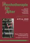 Psychotherapie im Alter Nr. 68: Theory of Mind, Empathie und Mentalisierung, herausgegeben von Meinolf Peters