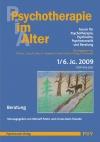Psychotherapie im Alter Nr. 21: Beratung, herausgegeben von Meinolf Peters und Ursula Koch-Straube