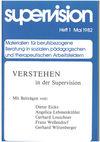 supervision Nr. 1: Verstehen in der Supervision