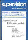 supervision Nr. 4: Supervision und Balintgruppenarbeit