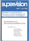 supervision Nr. 7: Supervision als Organisationsberatung