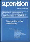 supervision Nr. 13: Supervision in der Ausbildung