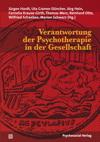 Verantwortung der Psychotherapie in der Gesellschaft