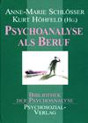 Psychoanalyse als Beruf