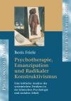 Psychotherapie, Emanzipation und Radikaler Konstruktivismus