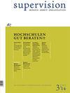 supervision 3/2014: Hochschulen gut beraten?!